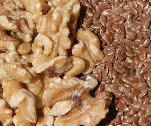 noci e semi di lino